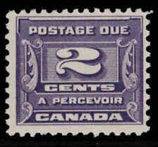Canada 1933 2¢ Postage Due Issue Mint Never Hinged