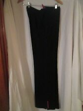 Prada Black Ski Style Pants Size 44 Ski Style Excellent Condition Made in Italy