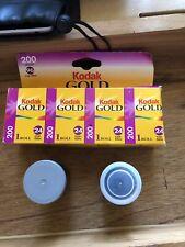 Kodak Gold 200 - Color print film 135 (35 mm) ISO 48 exposures  exp 11/2002