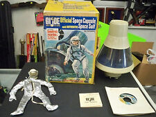 VINTAGE `66 GI JOE OFFICIAL SPACE CAPSULE SET (v1) #8020