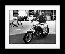 STEVE McQUEEN Replica signature Vintage style Framed Poster Print  MADE IN UK