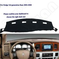 For fits 2002-2005 DODGE RAM 1500 2500 3500 DASH COVER MAT DASHBOARD PAD Black