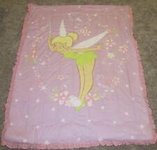 Tinkerbell Twin Size Bed Comforter Blanket Disney Vintage