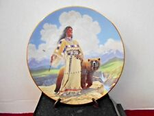 """Hamilton Collection 1993 """"Noble Beauty"""" Decorative Plate Pre-Owned"""