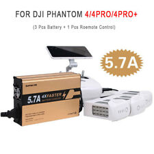 For DJI Phantom 4/4PRO/4 PRO+ Battery&Remote Control 4 in 1 Fast Battery Charger
