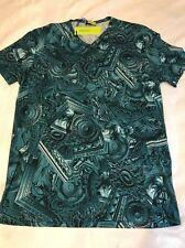 Preciosa Versace Para Hombre Camiseta.