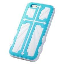 Fundas y carcasas Para iPhone 6 color principal azul de silicona/goma para teléfonos móviles y PDAs