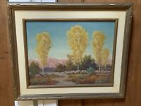 John A. Conner - California Impressionist Oil Painting