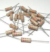 20x Widerstand 1200 Ohm f. Röhrenverstärker, ca. 1W, Vintage Tube Amp Resistors
