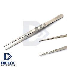 Dental Mini Dressing Tweezer Surgical Cotton & Dressing Tissue Thumb Forceps Lab