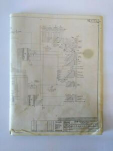 Bally Evel Knievel Original Used Pinball Machine Schematic Wiring Diagram 1977