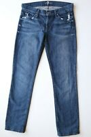 7 FOR ALL MANKIND women's jeans size 27,straight  pre-owned *GREAT CONDITION*