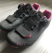 Fi'zi:k Boa R5 Womens Road Bike Shoes Anthraxcite Pink Sz 7.5 38