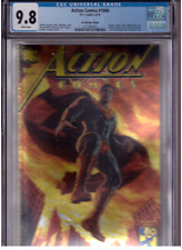 ACTION COMICS #1000 Superman Bermejo Gold Foil Convention VARIANT CGC 9.8 MINT