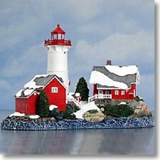 Harbour Lights Lighthouse 2002 Christmas Piece Crossover Island Ny #714 *Nib*