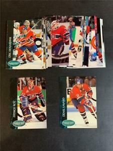 1992/93 Parkhurst Montreal Canadiens Team Set With Update 29 Cards Stanley Cup