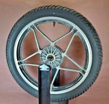 1983 83 HONDA NIGHTHAWK CB550 CB 550 front wheel rim tire B74P36
