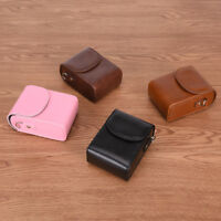 Vintage Leather Camera Case Bag For SONY RX100III RX100M3 BDAU
