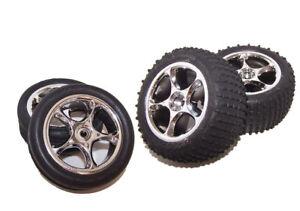 Traxxas 24054-4 Bandit XL5 Premounted Wheels & Tires