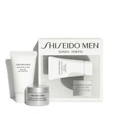 Shiseido Men Skincare Kit: Cleansing Foam, Total Revitalizer US Tracking