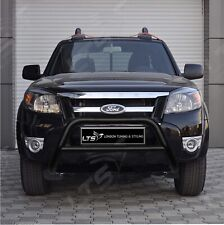 FORD RANGER STAINLESS STEEL BLACK AXLE NUDGE A-BAR, BULL BAR GUARD 2006-2011 W K