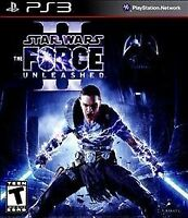 Star Wars The Force Unleashed II (Sony PlayStation 3, 2010) COMPLETE FAST PS3