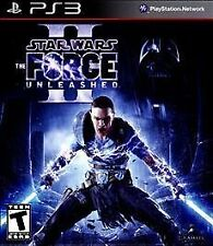 PS3 VIDEO GAME STAR WARS THE FORCE UNLEASHED II WITH MANUAL PS3 VIDEO GAME