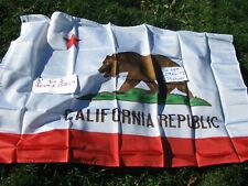 Flag 3X5 California Republic Flag CA State Banner Pennant