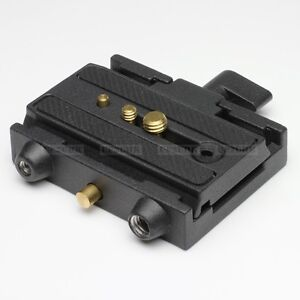 Compatible 577 Rapid Connect Adapter fr Manfrotto Quick Release Plate 501PL QR