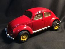 Original Vintage Red Tonka 52680 Volkswagen VW Beatle Bug 8 inches