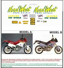 kit adesivi stickers compatibili 350 600 nordwest 1993-1994