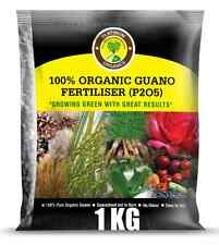 4 X 1kg Super Grow Organic Guano Fertilizer Granular Makes 200 Litres Liquid