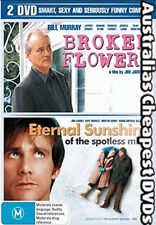 Broken Flowers  / Eternal Sunshine Of The Spotless Mind DVD NEW, FREE POST IN AU