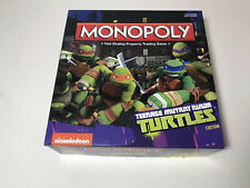 Monopoly Hasbro Teenage Mutant Ninja Turtles Edition 2014 Game Nickelodeon