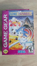 Game Gear, Neuf blister : Sonic Spinball, US (compatible FR)