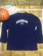 Pro edge Michigan Wolverines Fleece Sweatshirt L Large Sewn U of M s6