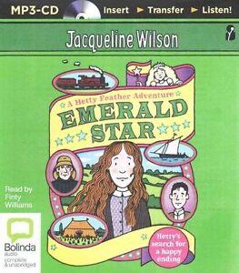 Emerald Star by Jacqueline Wilson (English) Audiobook- 8 Discs - Unabridged- NEW
