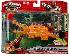 Power Ranger Dino Super Charge Deinosuchus croco Zord Megazord-Orange Variante