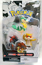 Pokemon Figure Multipack B&W Series #3 Servine, Patrat And Zoroark