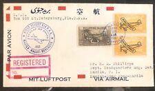 1937 Manila Filippine Prima Round Volo Posta Aerea Cover Ffc tramite Hong Kong