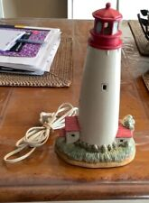 Lighthouse Cape May Point 1859, Ceramic Portable Lamp, 1993 Geo. Z. Lefton.