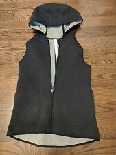 Women's Lululemon Reversible Vest Hoodie, Size 4