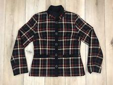 Pendleton Women's Plaid 100% Virgin Wool Two Pocket Blazer Size 4