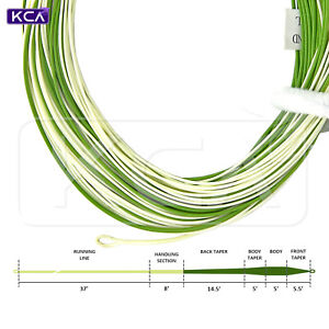 Lightweight Fly Line, WF1F, WF2F, WF3F, for small creeks, 2 welded loops