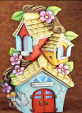 Ceramic Bisque Ready to Paint Lighted Mandavilla Fairy House