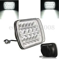 7X6'' HID 15 LED Light Bulbs Crystal Clear Sealed Hi / Lo Beam  Headlight 45W