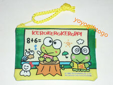 2014 Sanrio Keroppi Frog coin Bag small Pouch Mesh Bag