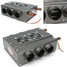 Auto Car 6 Ports Double Side Iron Heating Fan Heater with Speed Control Switch