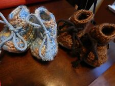 2 Uggs Classic crochet boots infants size Med. one is NEW/one is Slightly Used