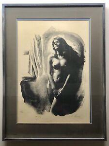 "Sandu Liberman ""Nude"" Lithograph - Woman - 144/200 w/ COA - READ"